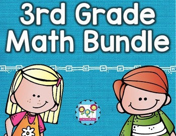 Math Bundle 3rd Grade ALL Standards
