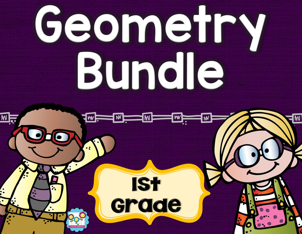 Geometry Bundle 1st Grade