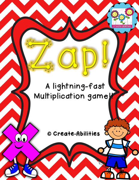 Multiplication Game 1x1 ZAP