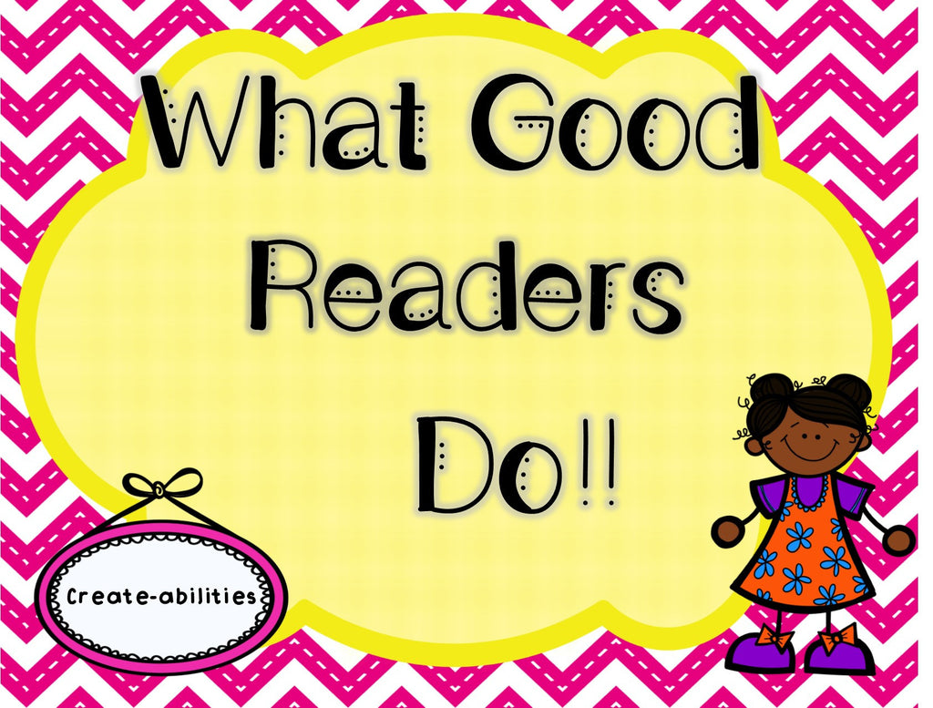 FREE What Do Good Readers Do?