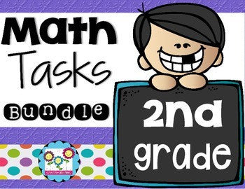 Math Tasks Bundle 2nd Grade