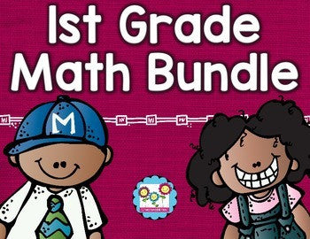 Math Bundle 1st Grade ALL Standards