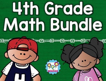 Math Bundle 4th Grade ALL Standards