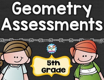Geometry Tests 5th Grade