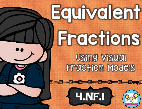Equivalent Fractions Math Tasks and Exit Tickets