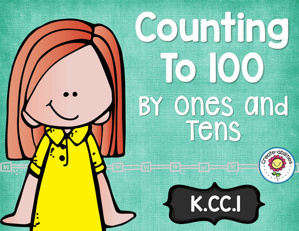 Counting to 100 Math Tasks and Exit Tickets