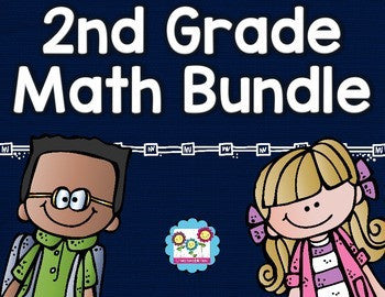 Math Bundle 2nd Grade ALL Standards