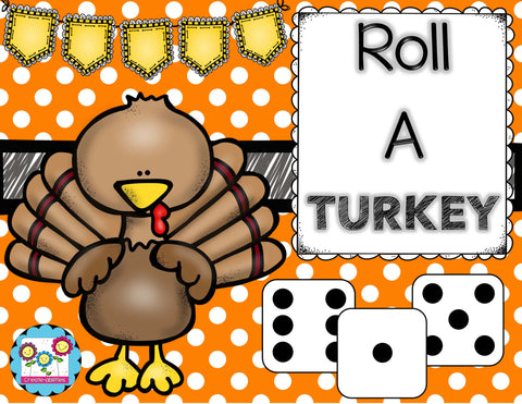 Roll a Turkey Dice Game