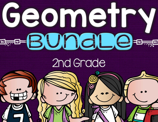 Geometry Bundle 2nd Grade