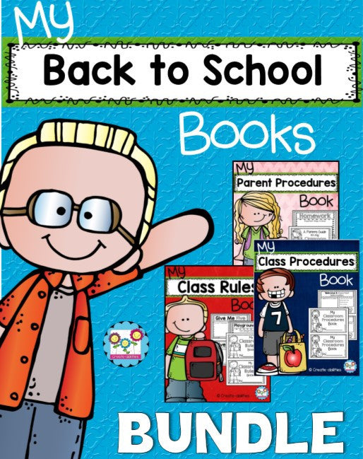 Back to School Books Bundle
