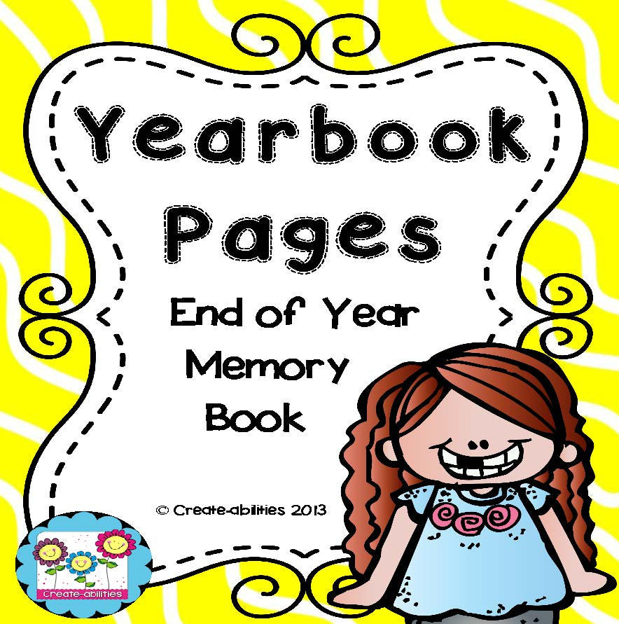 End of Year Booklet and Yearbook Pages