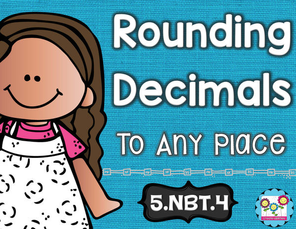 Rounding Decimals Math Tasks and Exit Tickets