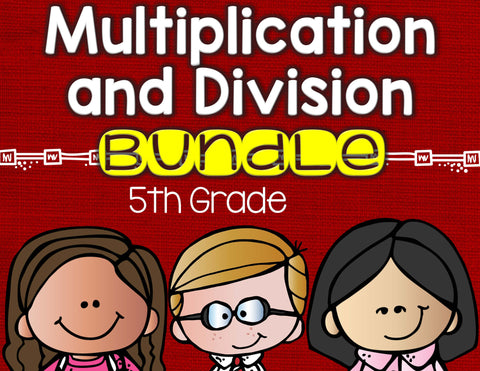 Order of Operations Bundle 5th Grade