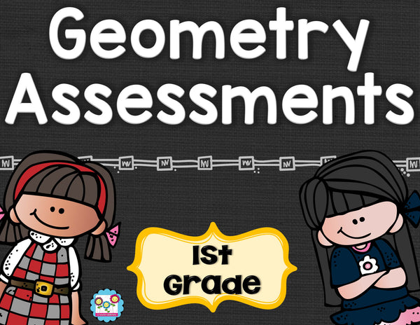 Geometry Tests 1st Grade