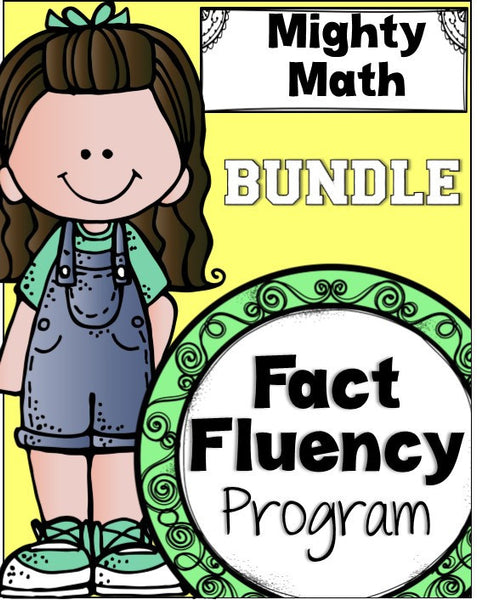 Fact Fluency Program Bundle