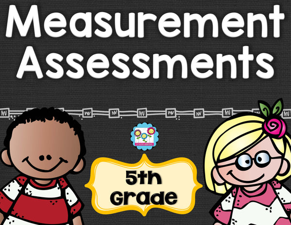 Measurement Tests 5th Grade