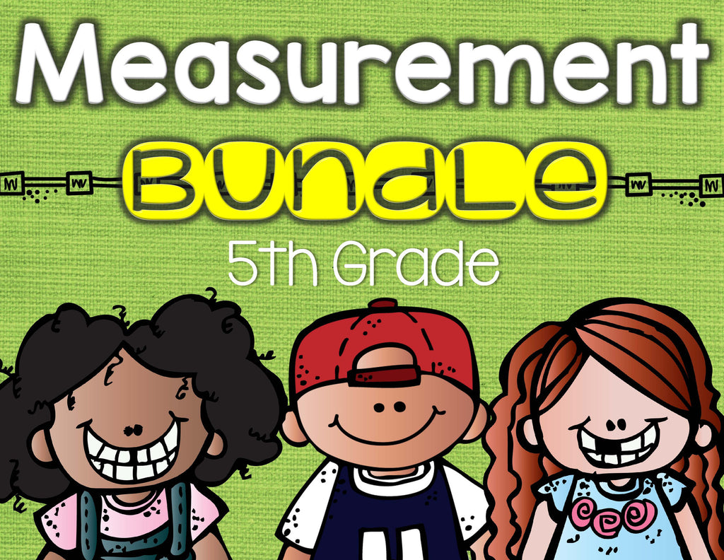 Measurement Bundle 5th Grade