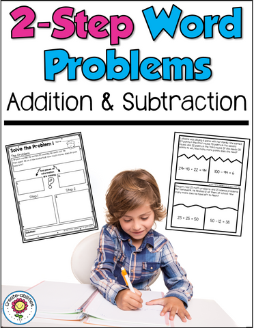 2 Step Word Problems Addition and Subtraction
