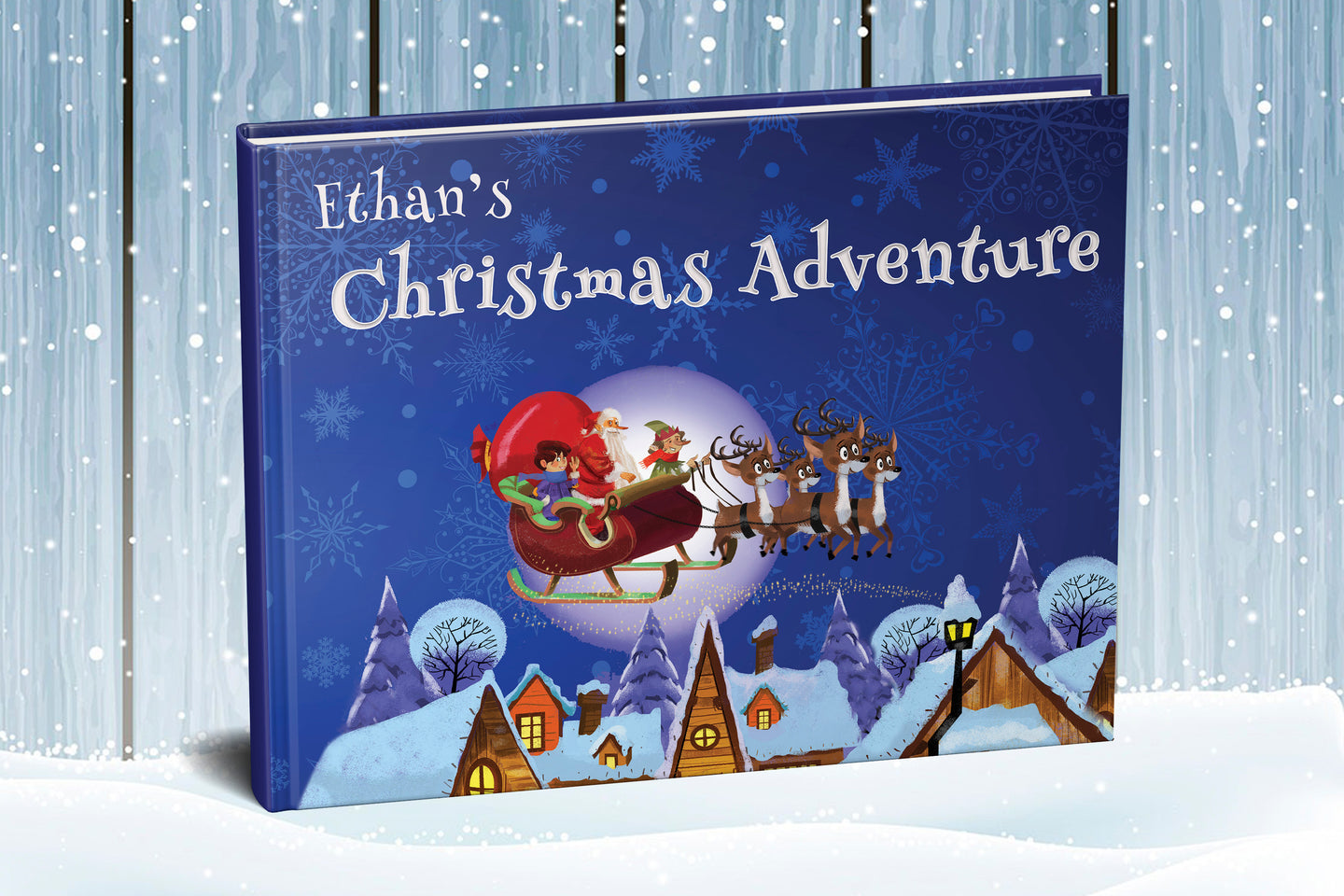 Magical Christmas Adventure personalized for every Boy