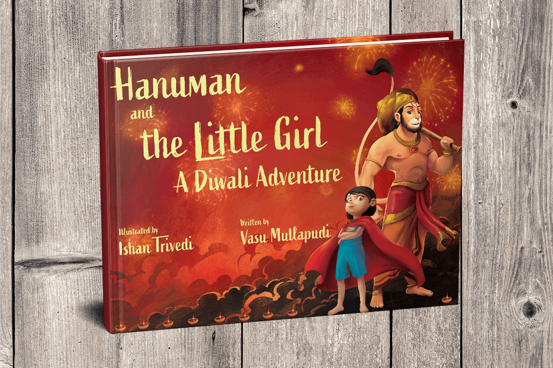 Hanuman and the Little Girl - A Diwali Adventure