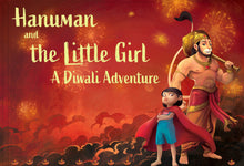 Load image into Gallery viewer, Hanuman and the Little Girl - A Diwali Adventure