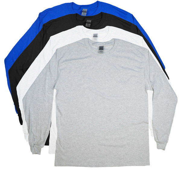 Embroidered Gildan Ultra Long Sleeve T-Shirts