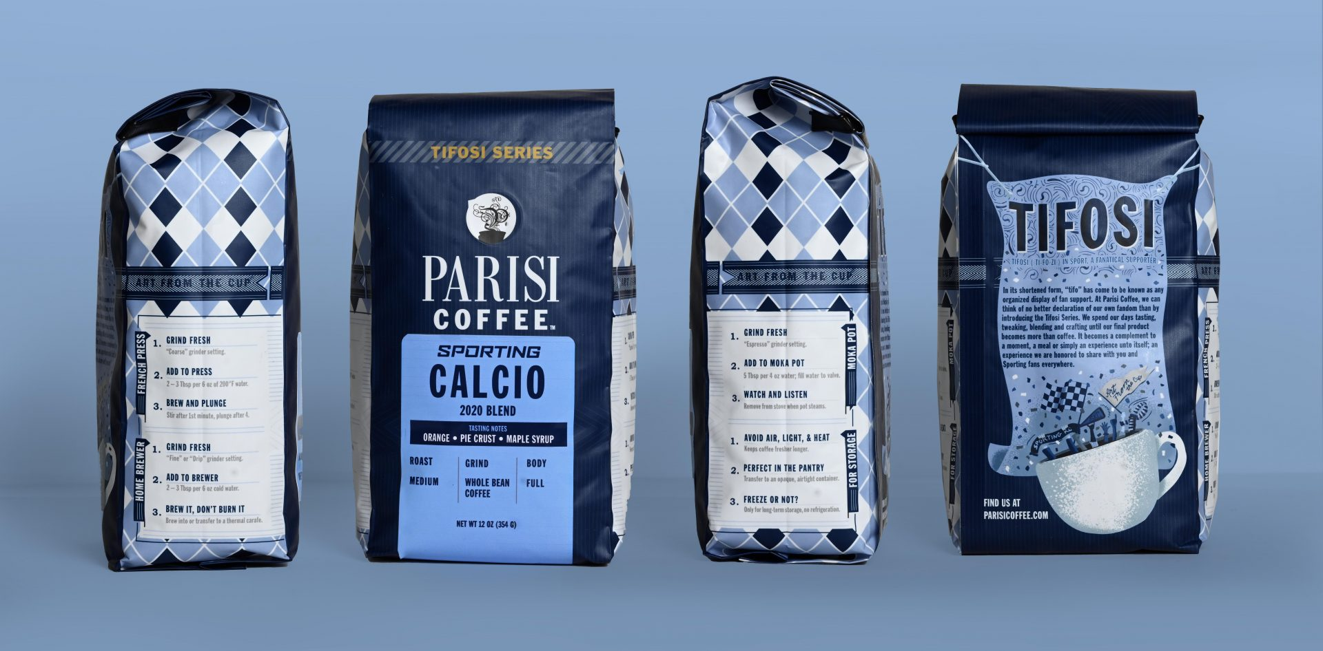 Sporting Kansas City and Parisi Coffee to release Sporting Calcio 2020 Blend in new Tifosi Series
