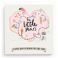 The Little Years Toddler Memory Book - GIRL