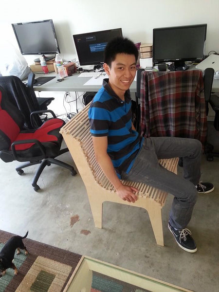 Alex Chair - prototype 1