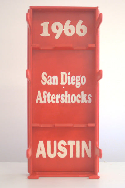 Roller Derby Gear Rack - Austin