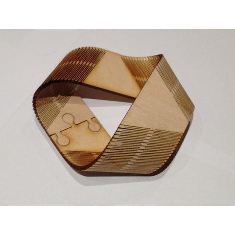 Moebius Strip - plywood