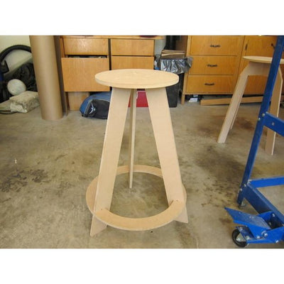 Workshop Stool - open design