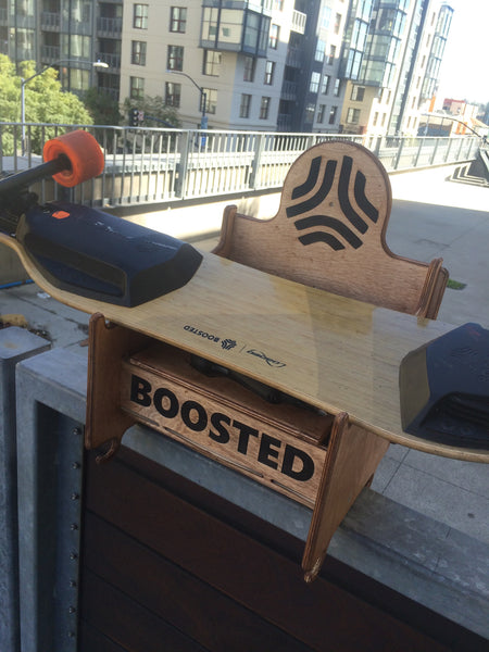 Boosted Board Rack