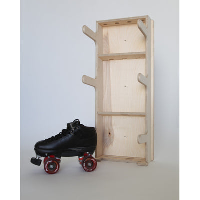 Roller Derby Gear Rack