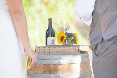 Wedding Ceremony Wine Box