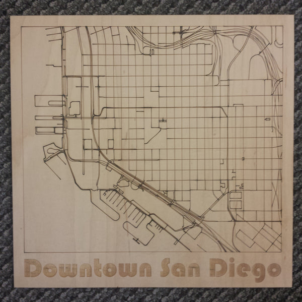 City Maps - San Diego, CA