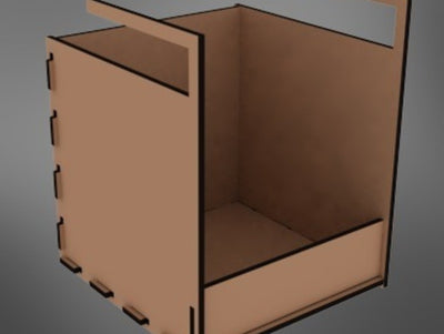 Parametric Extra Shelf - rendering