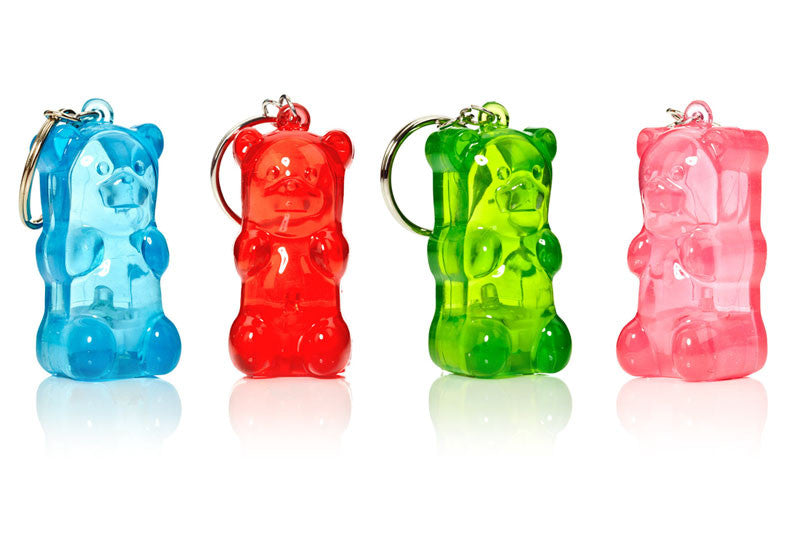 Gummy Bear Light-Up Keychains
