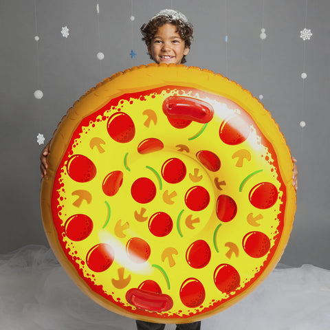 Pizza Snow Tube