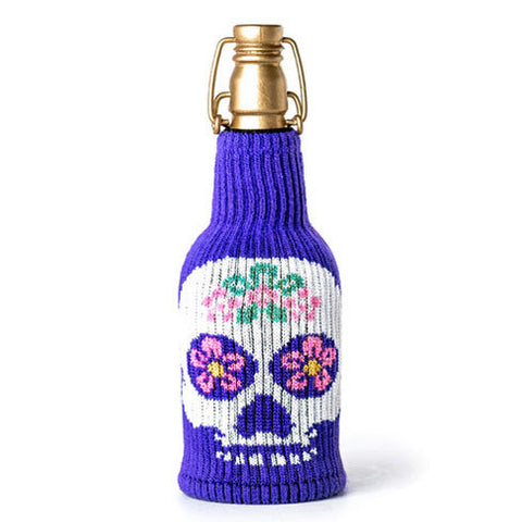 Sugar Skull Freaker Bottle Sleeve