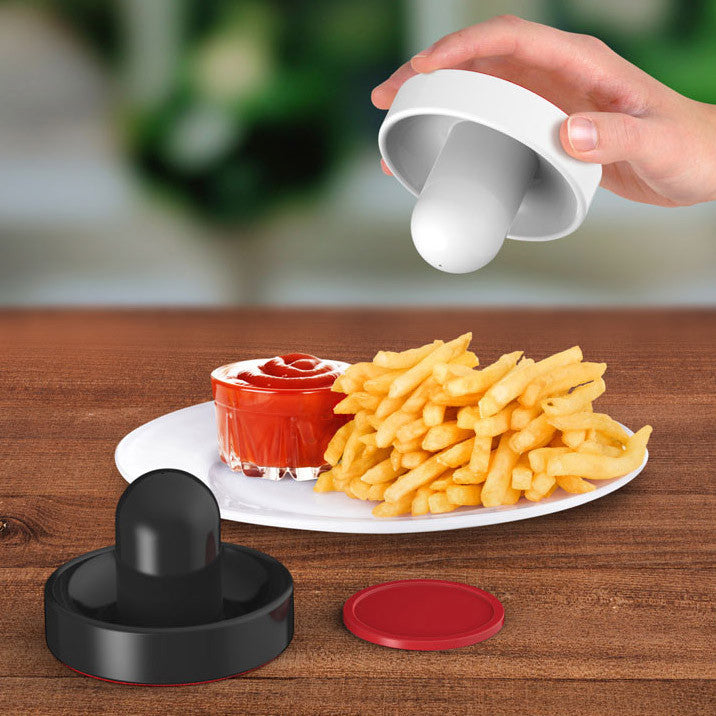 Air Hockey Salt and Pepper Shakers