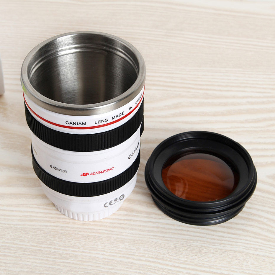 Camera Lens Coffee Mug – Foodiggity Shop