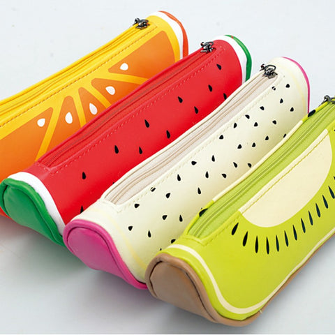 Fruit Slice Pencil Case