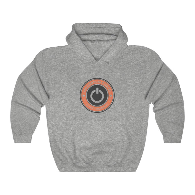 Colored Coffee and Coworking Hooded Sweatshirt