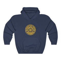 Black and Gold Chicago Hooded Sweatshirt