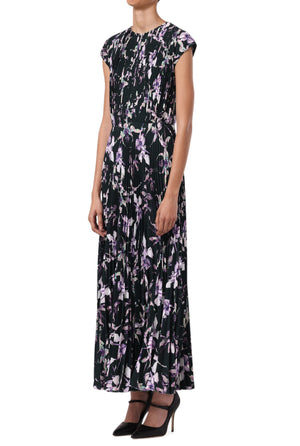 WILD ORCHID DAY DRESS