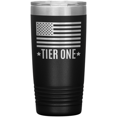 Travel Tumbler (Tier One Flag)