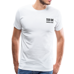 Men's Premium T-Shirt (Bonefrog) - white