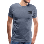 Men's Premium T-Shirt (Bonefrog) - heather blue