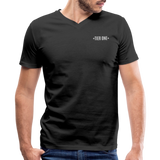 Men's V-Neck T-Shirt (Tier One) - black